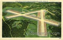 tur001010 - The New Scranton Wilkes-Barre Airport, Avoca, PA, Pennsylvania, USA Turnpike, Turnpikes Postcard Post Cards Old Vintage Antique