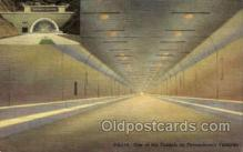 tur001016 - Tunnels, Pennsylvania Turnpike,  PA, Pennsylvania, USA Turnpike, Turnpikes Postcard Post Cards Old Vintage Antique