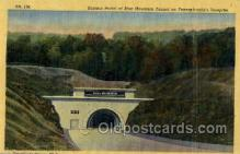 tur001034 - Blue Mountain Tunnel, PA, Pennsylvania, USA Turnpike, Turnpikes Postcard Post Cards Old Vintage Antique