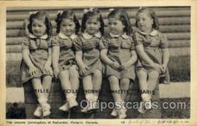 twn002001 - Dionne Quintuplets Postcard Postcards
