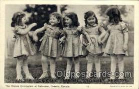 twn002013 - Dionne Quintuplets Postcard Postcards