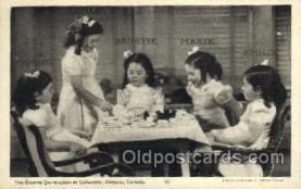 twn002014 - Dionne Quintuplets Postcard Postcards
