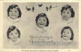 twn002041 - Dionne Quintuplets Postcard Postcards