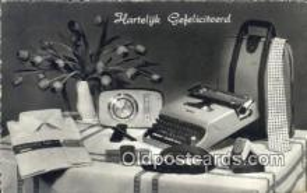 typ001014 - Hartelyk Gefeliciteerd  Postcard Post Card, Carte Postale, Cartolina Postale, Tarjets Postal,  Old Vintage Antique