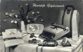 typ001015 - Hartelyk Gefeliciteerd  Postcard Post Card, Carte Postale, Cartolina Postale, Tarjets Postal,  Old Vintage Antique