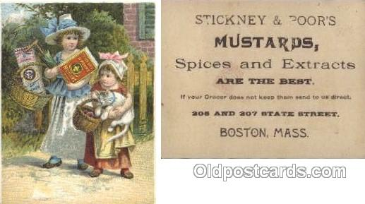 Stickney & Poors Mustards, Boston Mass. USA
