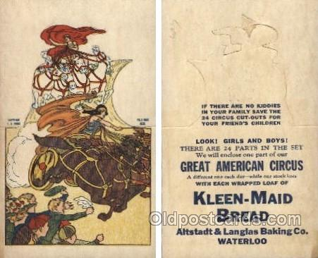 Kleen-Maid Bread, Altstadt & Langlas Baking Co. Waterloo