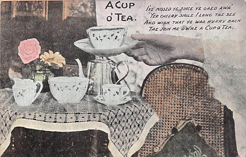 Advertising Post Card Tea 1906