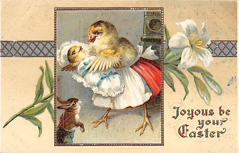 Easter Postcards - Old Vintage Antique Post Card