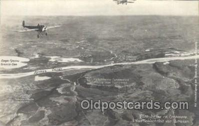 Rare Russian Aerial Photo WWI