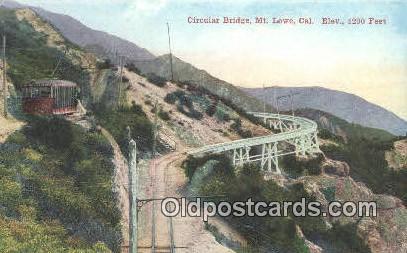 Mt. Lowe CA