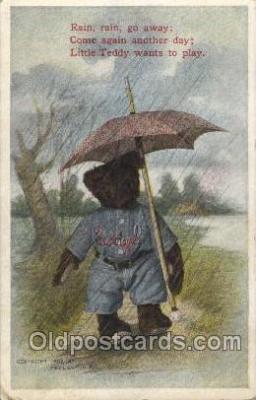 umb001005 - Fred Cavally Umbrella Postcard Postcards