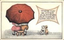 umb001006 - Series No. 036-11 Umbrella Postcard Postcards