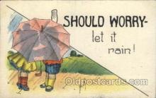 umb001009 - Artist Cavally Umbrella Postcard Postcards