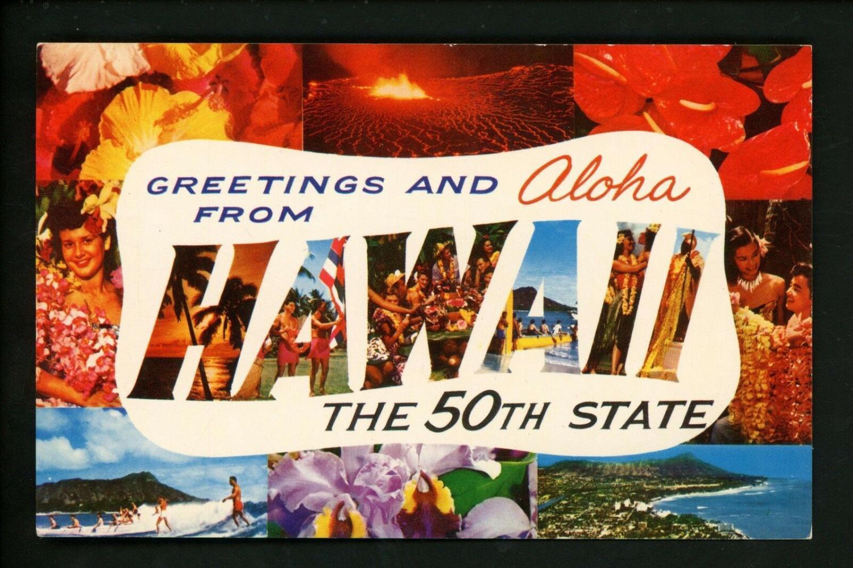 Hawaii HI Postcards