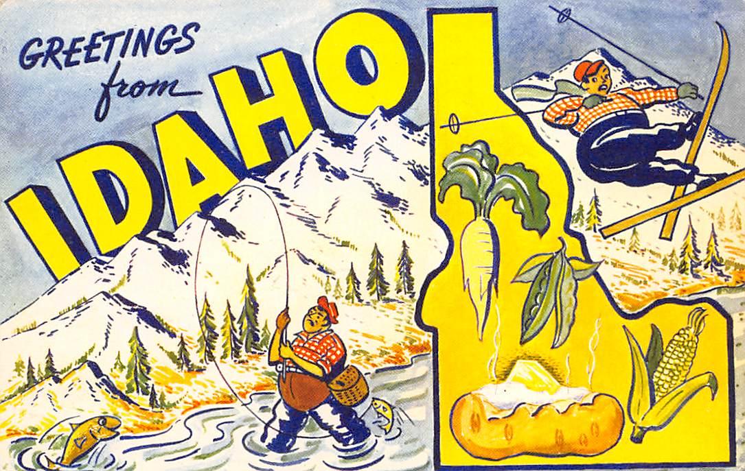 Idaho ID Postcards
