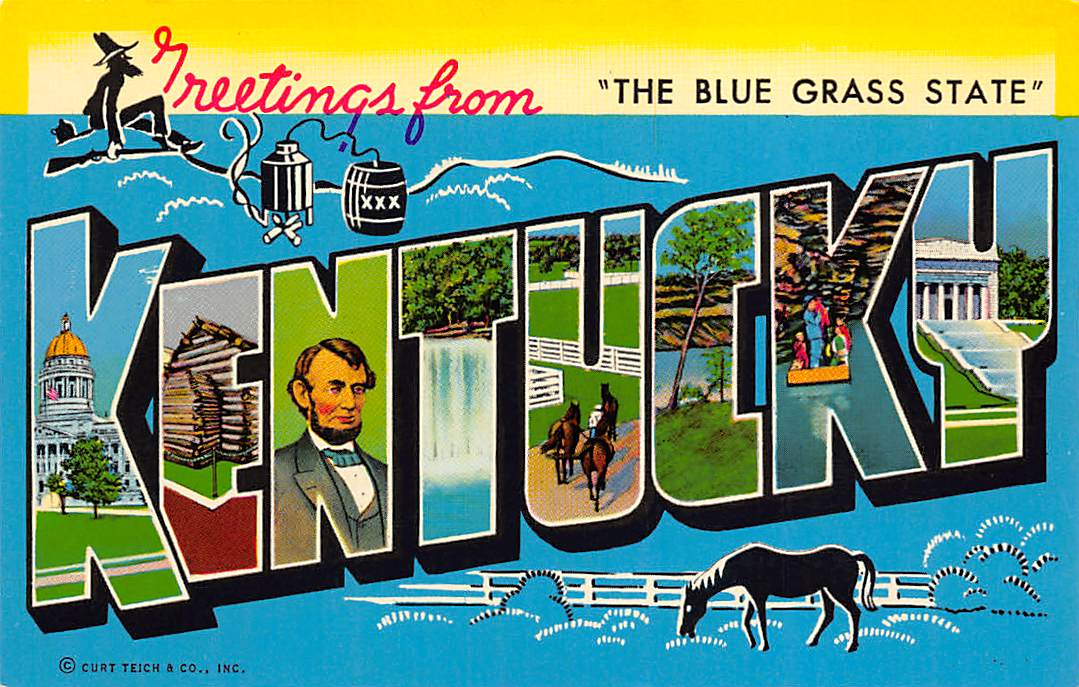 Kentucky KY Postcards