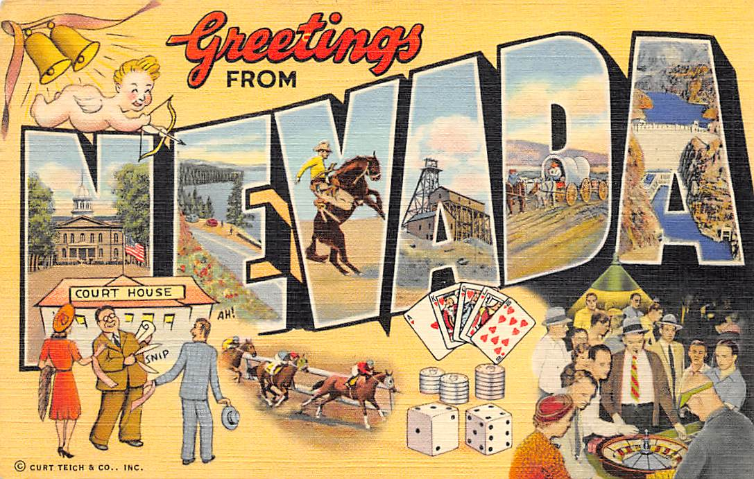 Nevada NV Postcards