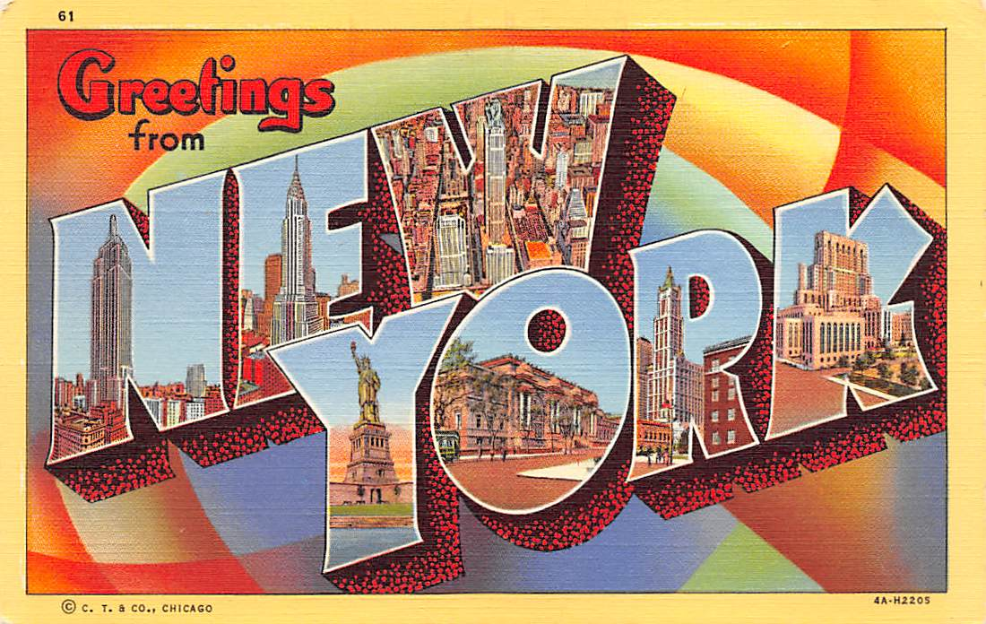 New York NY Postcards