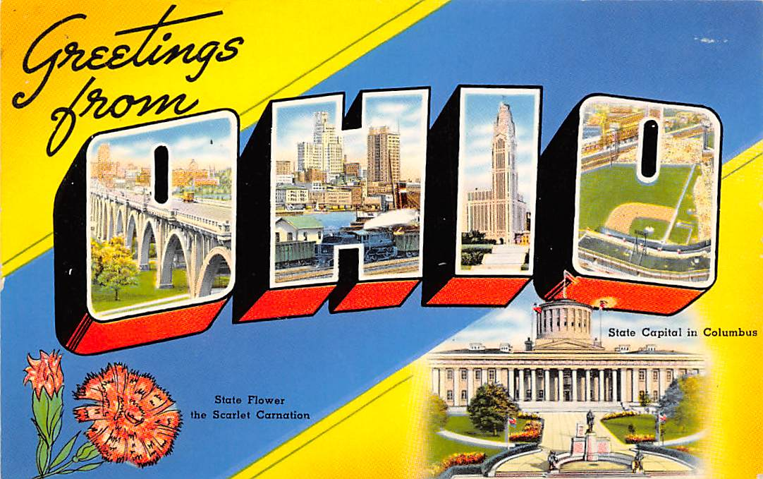 Ohio OH Postcards