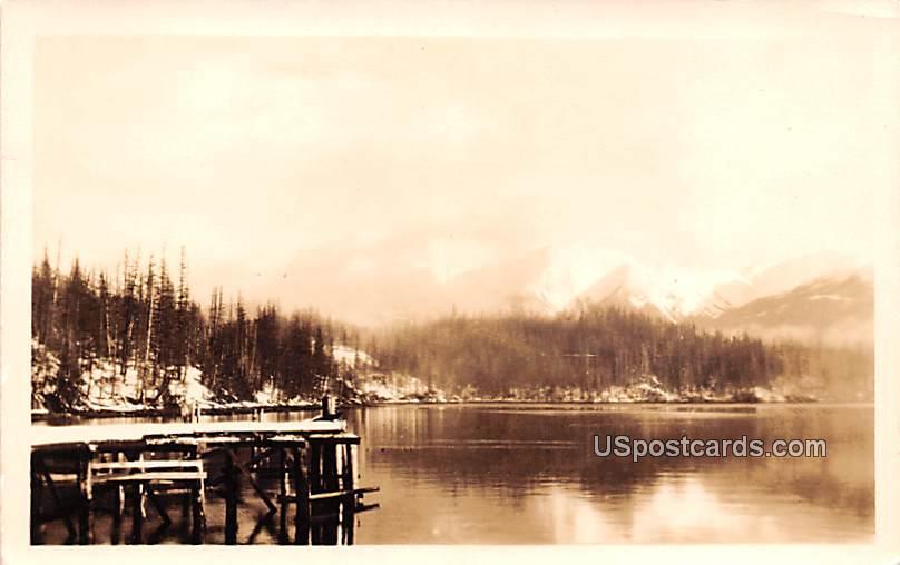 Water View - Hyder, Alaska AK Postcard