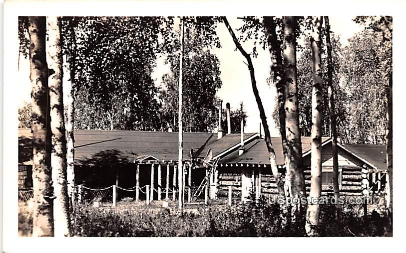 Log Cabin - Misc, Alaska AK Postcard