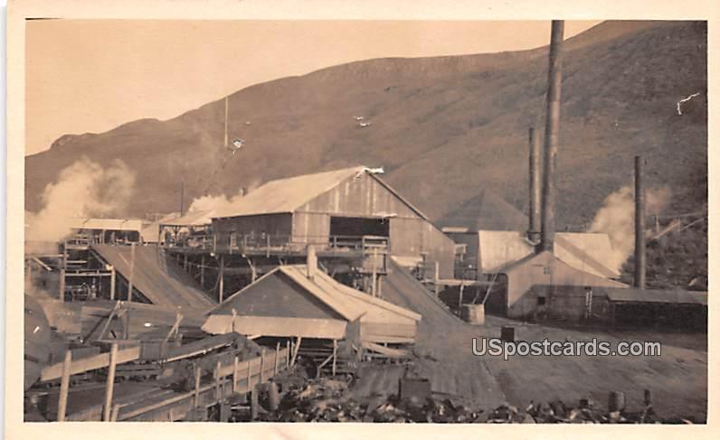 Work Yard - Misc, Alaska AK Postcard