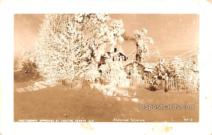 Alaskan Winter - Misc Postcard