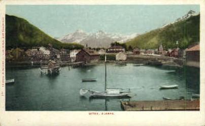Sitka, Alaska, AK Postcard