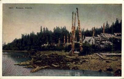 Kassan, Alaska, AK Postcard