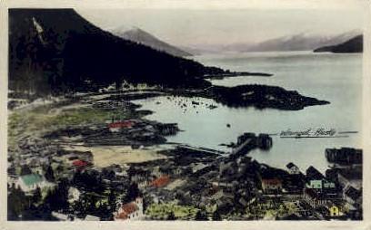Sky View - Wrangell, Alaska AK Postcard