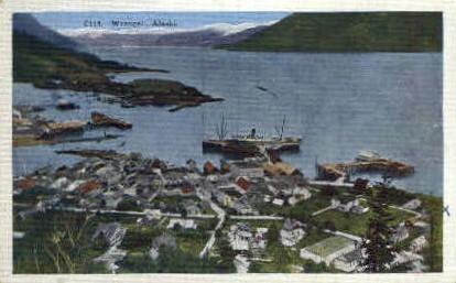 Wrangell, Alaska, AK Postcard