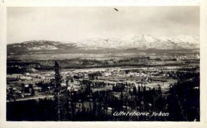 Whitehorse Yukon - Alaska AK Postcard
