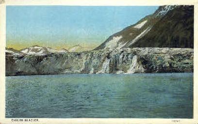 Childs Glacier - Alaska AK Postcard