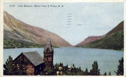 Lake Bennett - Alaska AK Postcard