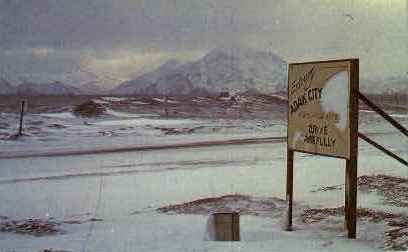 Birthplace of the Winds - Adak, Alaska AK Postcard