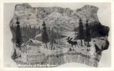 University of Alaska Museum - Misc Postcard