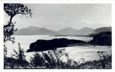 St. Paul Harbor - Kodiak, Alaska AK Postcard