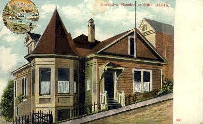 Executive Mansion - Sitka, Alaska AK Postcard