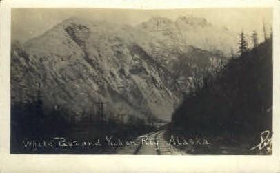 White Pass and Yukon Railway - Alaska AK Postcard