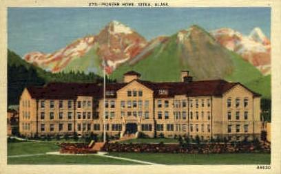 Pioneer Home - Sitka, Alaska AK Postcard
