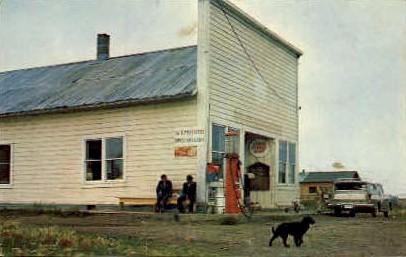Yukon Trading Post - Circle City, Alaska AK Postcard