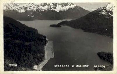 Eyak Lake - Alaska AK Postcard