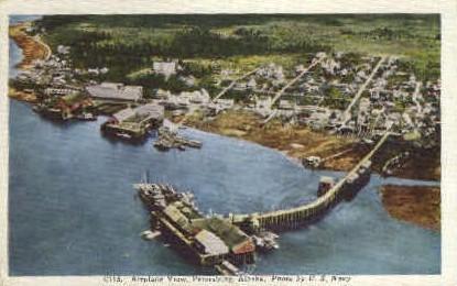 Petersburg, Alaska, AK Postcard