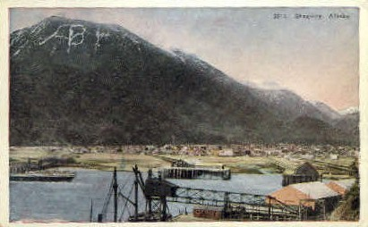 Mountain View - Skagaway, Alaska AK Postcard