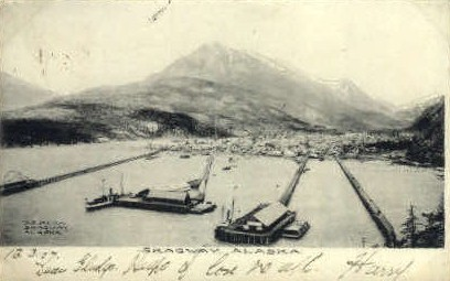 Skagaway, Alaska, AK Postcard