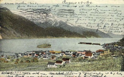 Air View - Douglas, Alaska AK Postcard