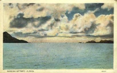 Harding Gateway - Misc, Alaska AK Postcard