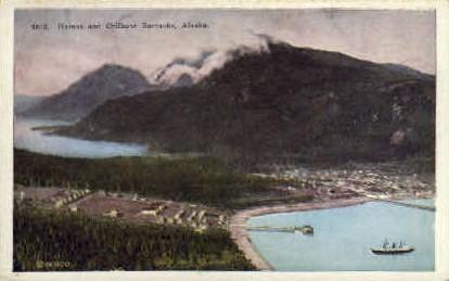 Haines and Chilkoot Barracks - Misc, Alaska AK Postcard