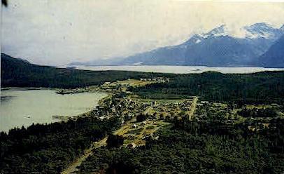 Haines and Port Chilkott - Misc, Alaska AK Postcard